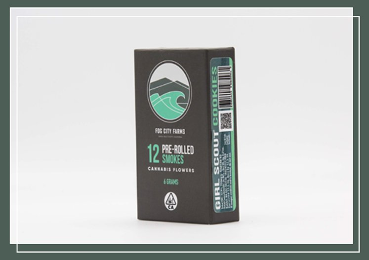 12 Pack / Pre-roll Products - Girl Scout Cookies