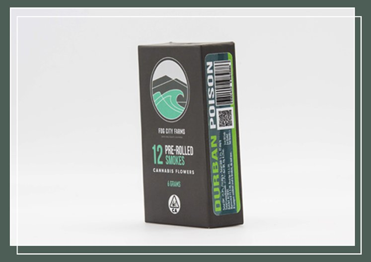 12 Pack / Pre-roll Products - Durban Poison